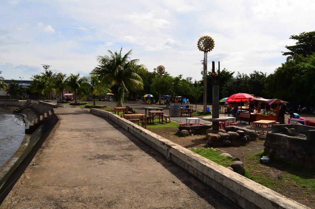 ミンダナオ島のオザミスの観光でコタビーチ(CottaBeach)
