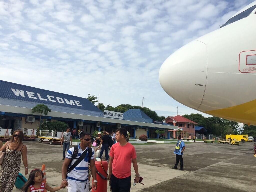 オザミス空港 ミンダナオ フィリピン セブパシフィック 外国人がいない