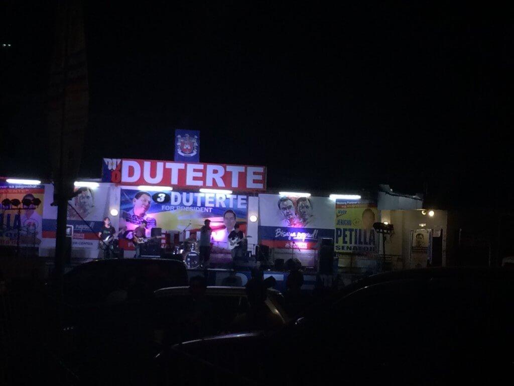 フィリピンのドゥテルテ大統領の麻薬・大麻撲滅、喫煙禁止の禁煙政策などが田舎では広がっている