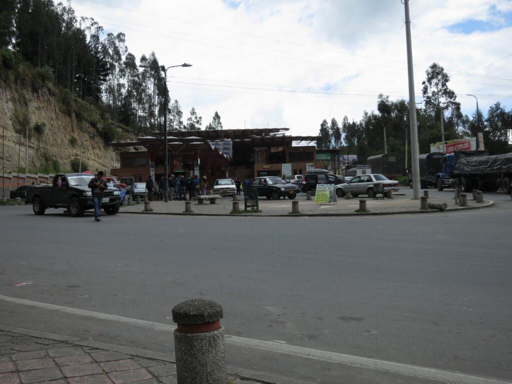 コロンビアからエクアドルへの国境越え!オタバロの土曜市に間に合う!?