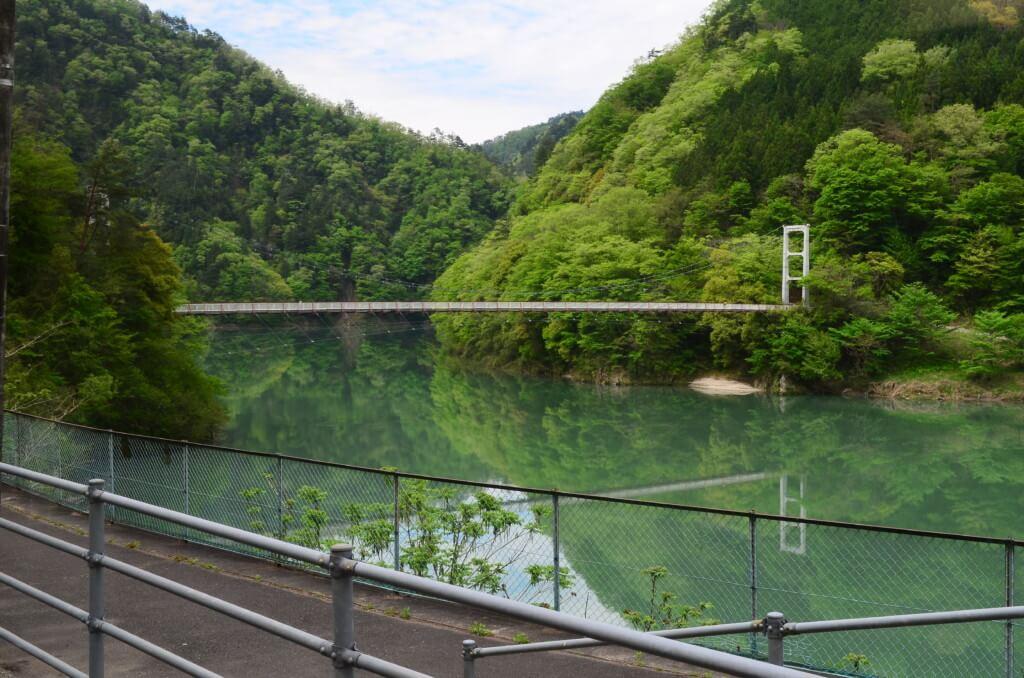 残り4つの飯田線の秘境駅の為栗/田本/金野/千代も景色を1枚とっては終わりました