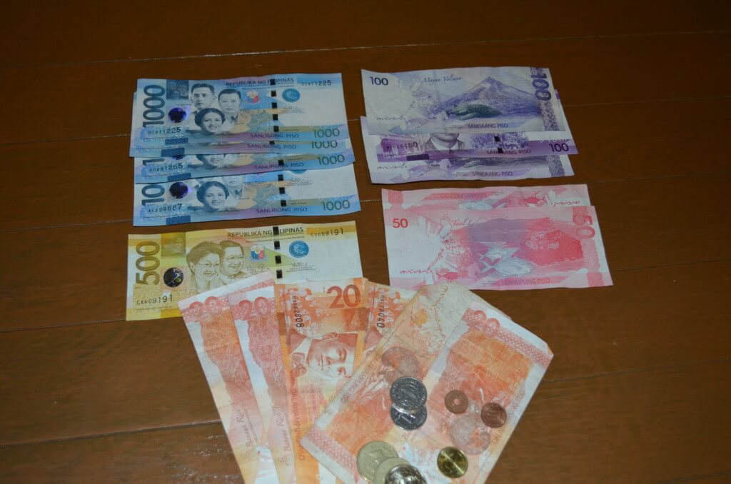 フィリピンのセブ島で両替はどこでいくら換金したほうがいい?