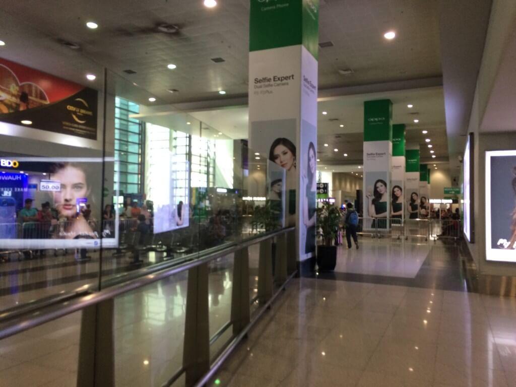 マニラ空港(ニノイ・アキノ国際空港)のターミナル3の「荷物預かりサービス」Luggage & Moreの場所