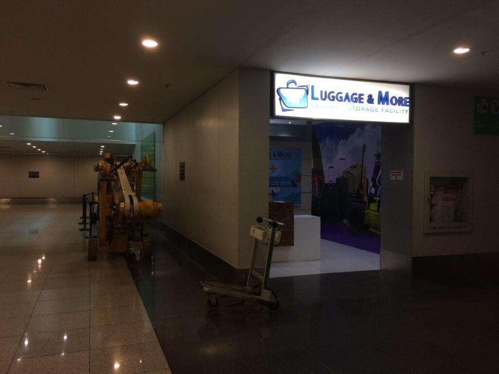 マニラ空港のターミナル3の荷物預かりサービスLuggage&Moreの場所や行き方