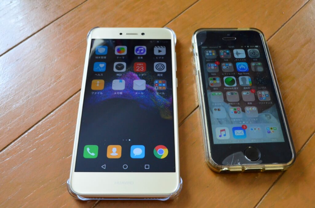 Huawei nova liteは5.2インチスマホ
