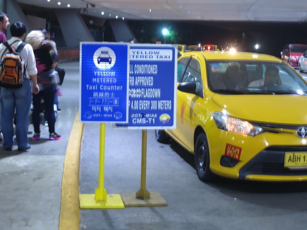 エアポートタクシー(黄色タクシー)