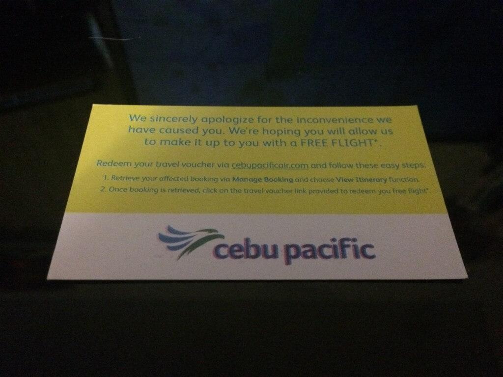 セブパシフィック航空(Cebu Pacific)のFree Flight(無料航空券)とは?