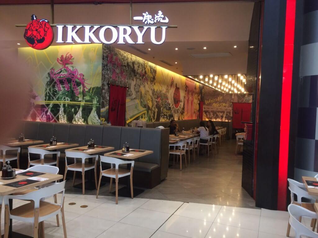 フィリピンブーム?日本食ラーメン店「一康流」も入っている