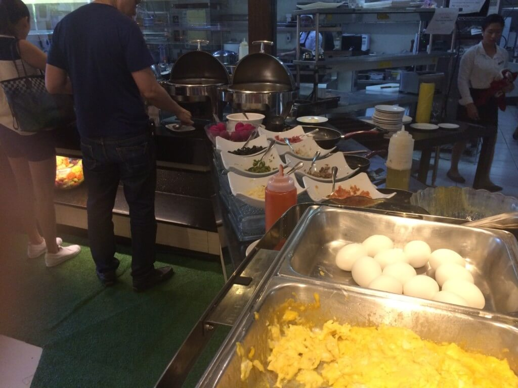 エルフィッシャーホテルの朝食ビュッフェは豪華!