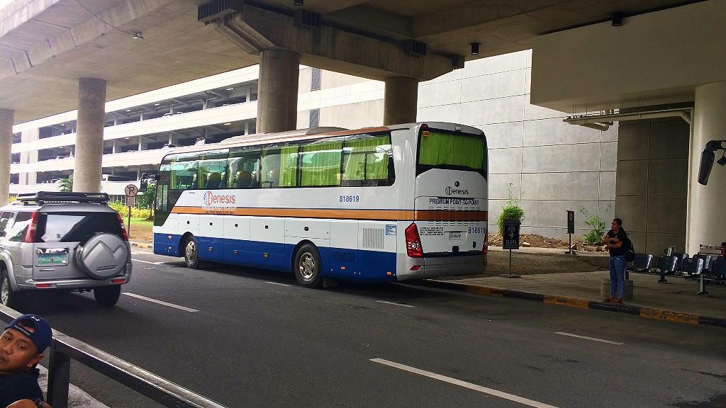 マニラ空港からクラーク(アンヘレス)の行き方で聞いてわかった直通バスの詳細をまとめるよ