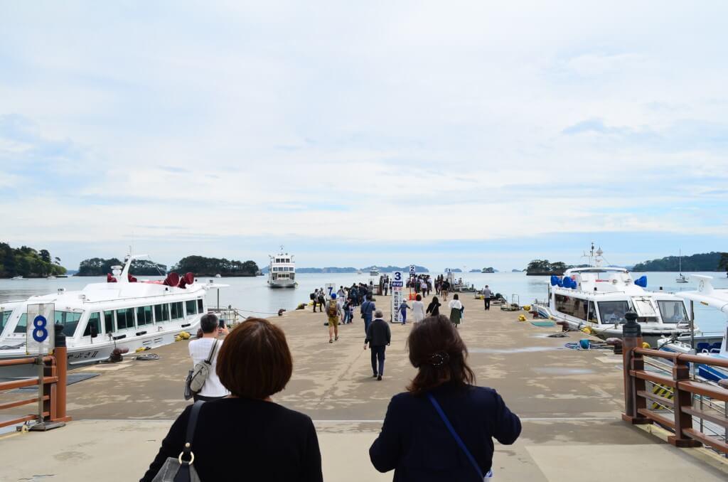 松島の観光は遊覧船!乗り場や時刻表に種類は?