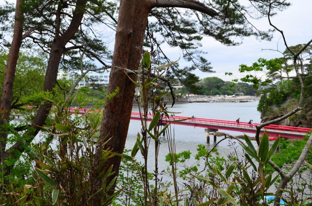 時間があるなら五大堂と福浦橋を渡って福浦島を観光しよう