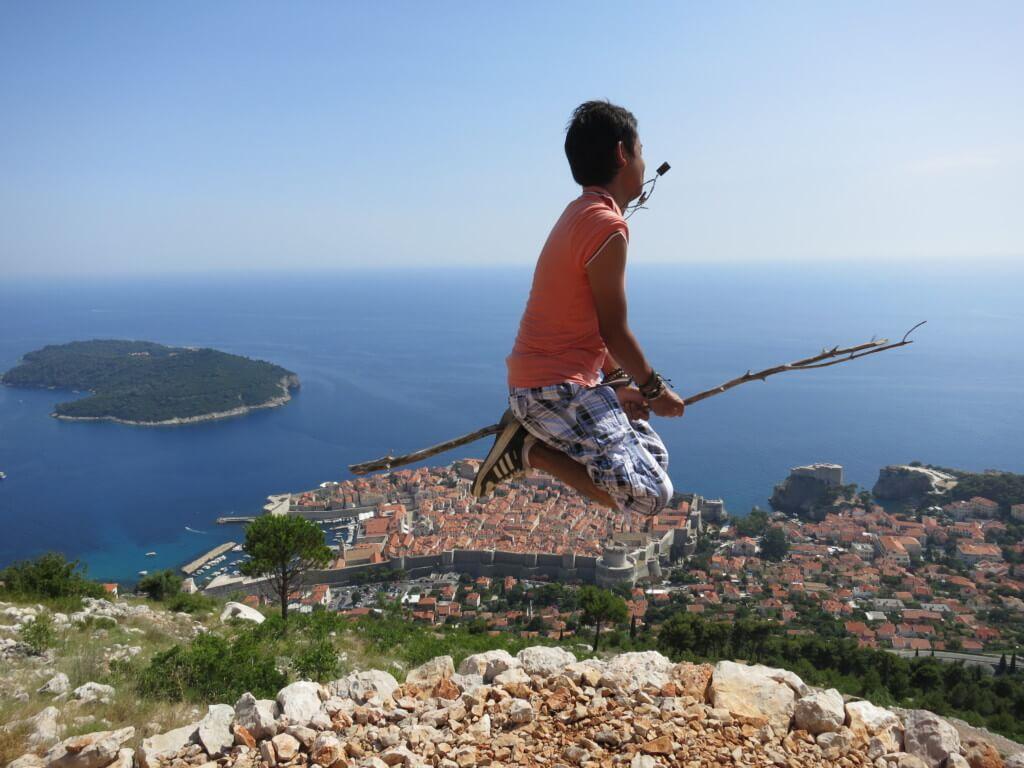 【29カ国目】クロアチアはプリトビッツェ国立公園もいいけどやっぱりドブロブニクの街並みで魔女の宅急便
