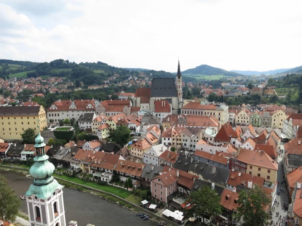 【25カ国目】チェコはすべてにおいて芸術的でチェスキー・クルムロフは御伽噺の世界