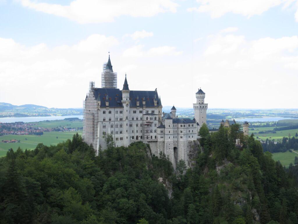 【37カ国目】ドイツはバイエルン・ミュンヘンの試合が見れなかった悔しさと観光しまくったシンデレラ城は工事中だけど?