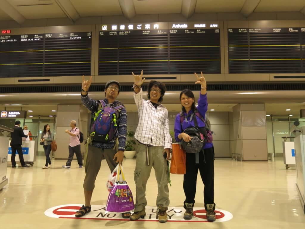 【55カ国目】アメリカはトランジットの空港泊のロサンゼルスと世界一周バックパッカーの旅が終わった「ただいま日本!」