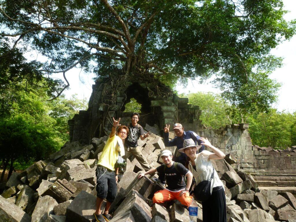 【5カ国目】カンボジアはプノンペンでブラックジャック詐欺にシェムリアップで憧れの世界遺産アンコールワット遺跡群をママチャリで観光の日々