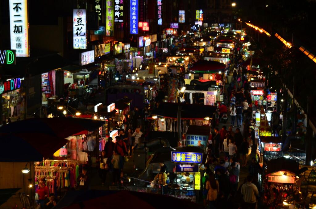 台北の観光は夜市でおいしいものを食べよう