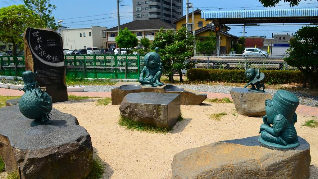 松江から境港の行き方は?実際にバスで行って水木しげるロードやグルメで海鮮を食べるよ
