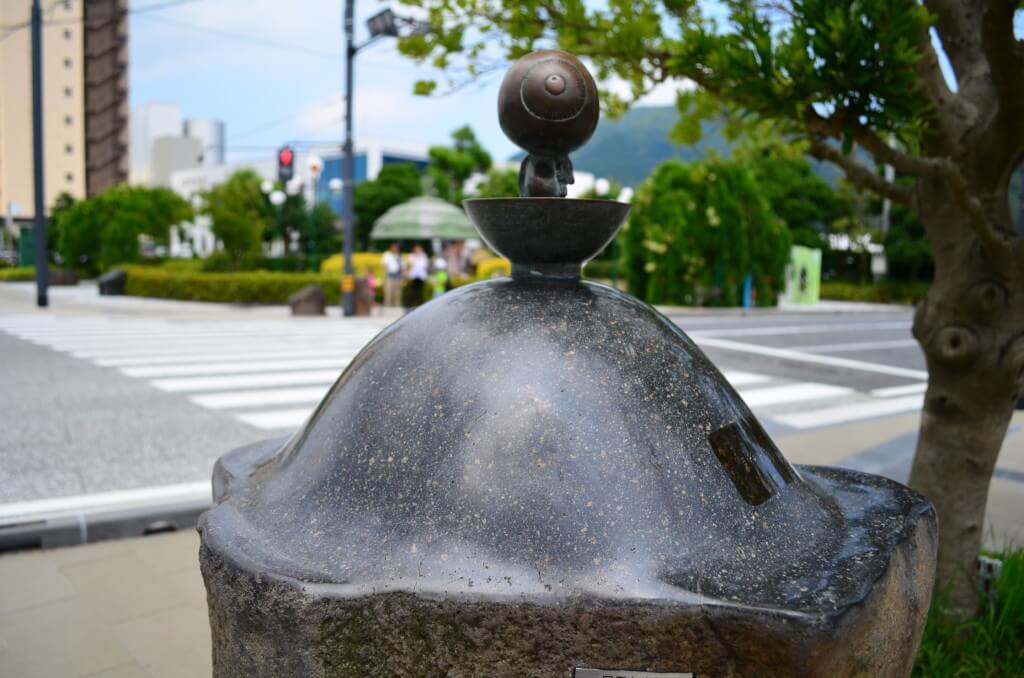 境港 水木しげるロード ブロンズ像