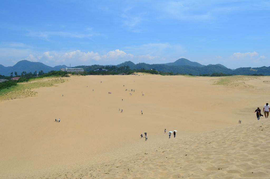 鳥取砂丘の長靴のレンタルは無料