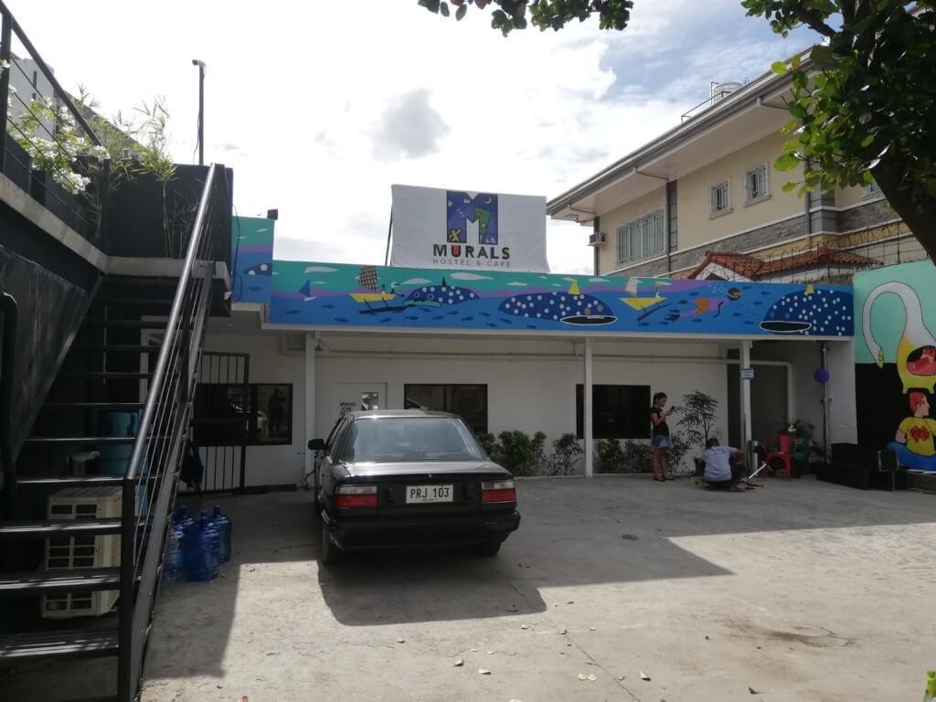 セブ島のノマドワーカー必見!カフェに快適コワーキングスペースが併設されているムラルス ホステル&カフェ(Murals Hostel&Cafe)