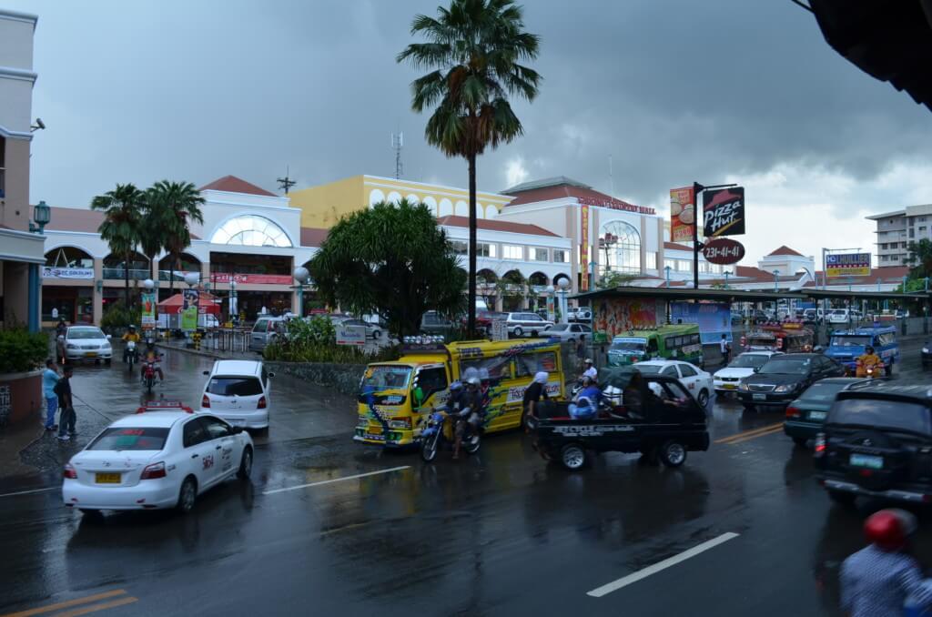 セブ島の雨季は6月から12月