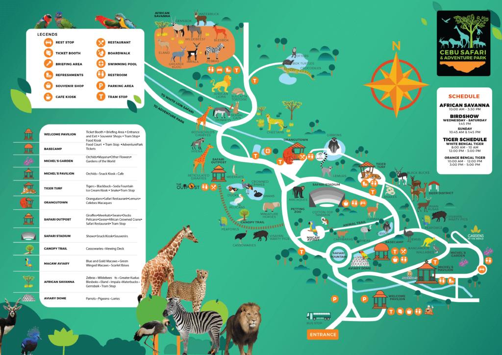 セブサファリ&アドベンチャーパーク(Cebu Safari and Adventure Park)は子供が楽しめる