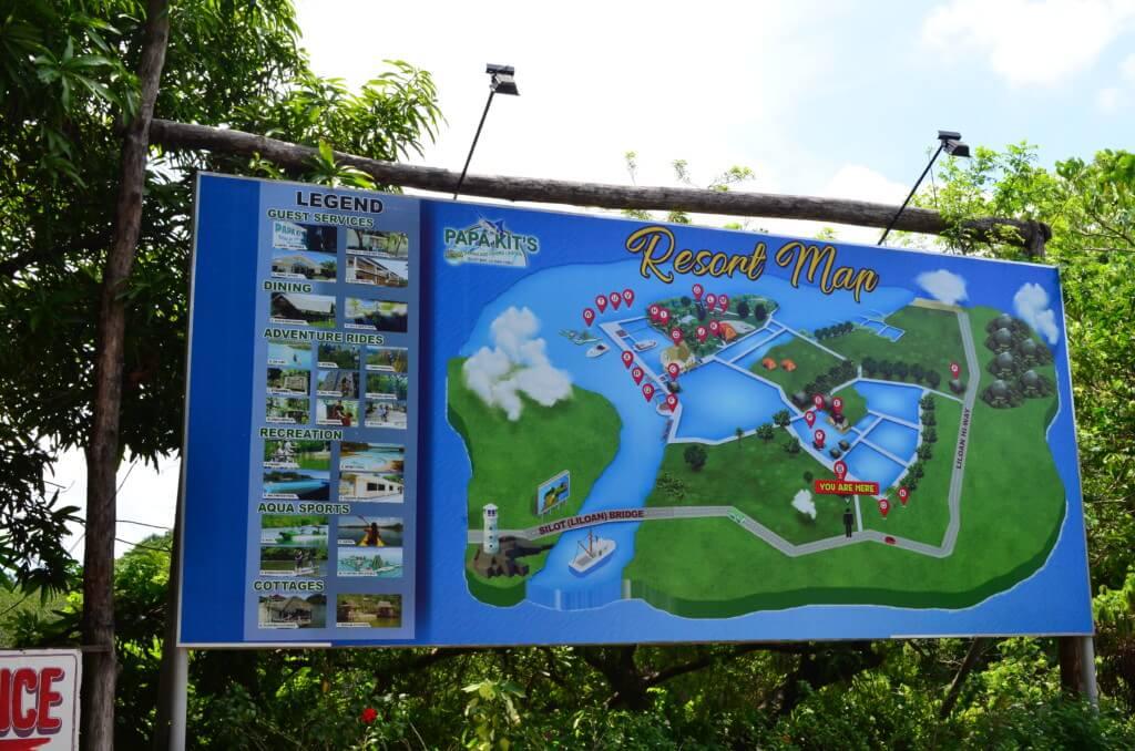 セブ島のパパキッツ(Papa Kit's)のアトラクションはジップラインにアスレチックプールまである