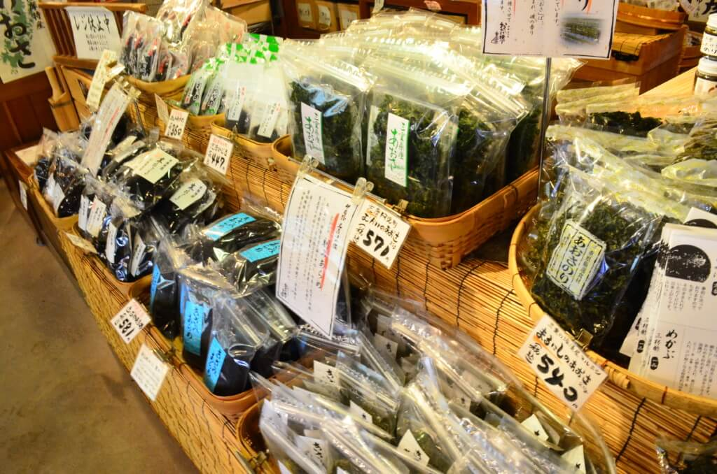 伊勢神宮・おかげ横丁の食べ物のお土産