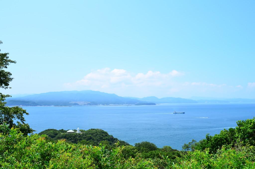 タカノス山展望台は絶景