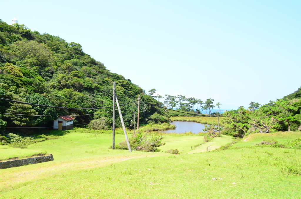 友ヶ島は観光だけではなく海がキレイで泳げるしキャンプもできる