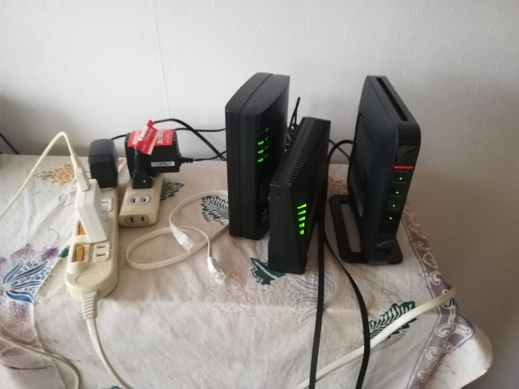 CCNet光に変更した上り・下りのインターネット速度の結果